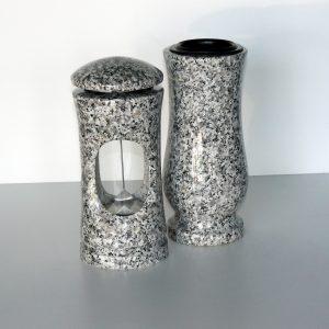 Svítilna a váza