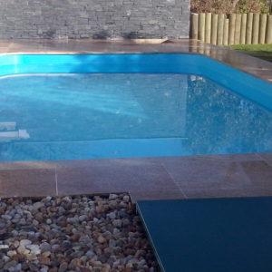 Bazénový lem - kámen