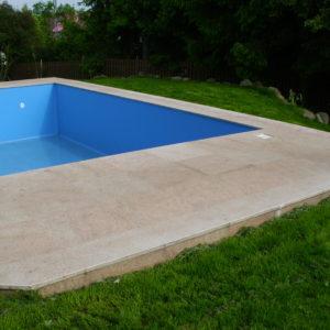 Venkovní dlažba - bazén