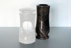 vase granit