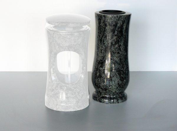 granitová váza