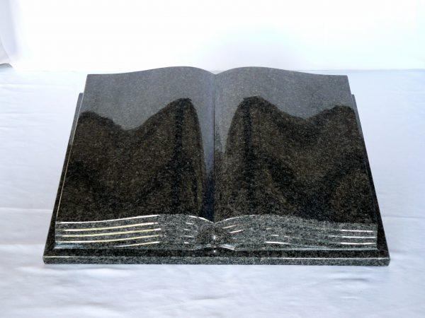 Kniha žula černá