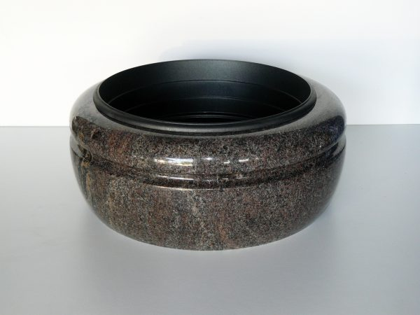 miska náhrobní kámen barevný