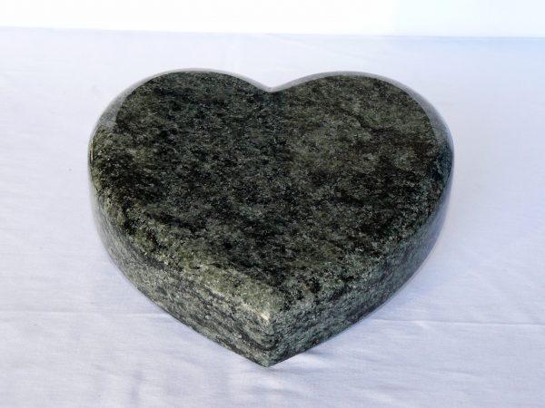 srdce žula zelená