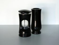 kamenná váza lampa